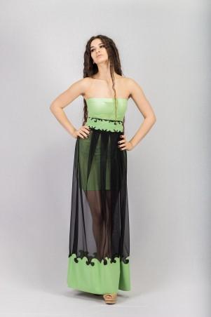 Salma: Платье Круиз-вуаль - главное фото