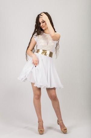 Salma: Платье Белое Золото - главное фото
