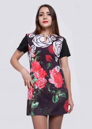 Irvik Trend: Платье принт 1420 - главное фото
