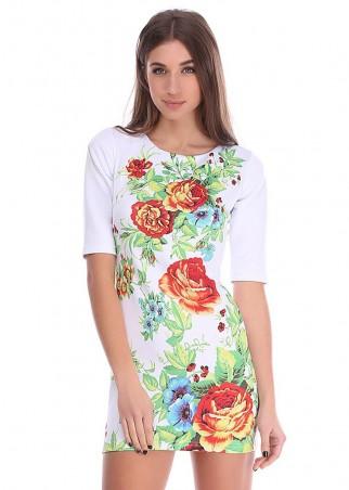 Irvik Trend: Платье принт 1408 - главное фото