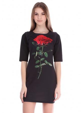 Irvik Trend: Платье принт 1402 - главное фото