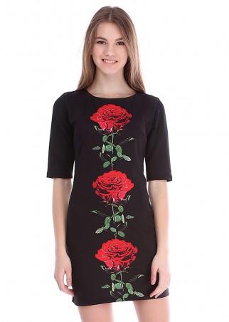 Irvik Trend: Платье принт 1400 - главное фото