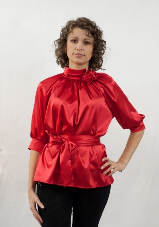 Salma: Блуза Роза - главное фото
