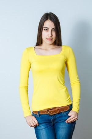 Salma: Блуза Квадратик жёлтый - главное фото