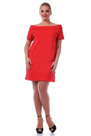 Alpama: Платье SO-10990-RED - главное фото