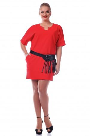 Alpama: Платье SO-10991-RED - главное фото