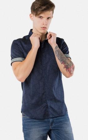 MR520 Men: Рубашка MR 123 1104 0216 Dark Blue - главное фото