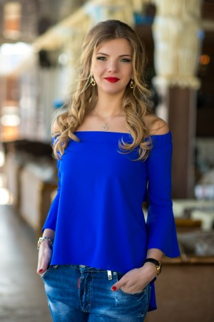 Bisou: Блуза 1263 - главное фото