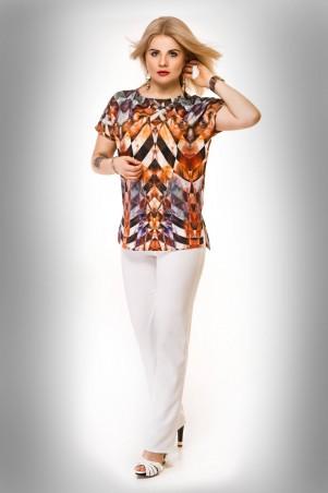 Tamara Style: Брюки Брюки барби (молоко) - главное фото