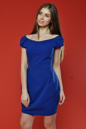 """TessDress: Яркое платье цвета индиго """"Катерина"""" 1264 - главное фото"""