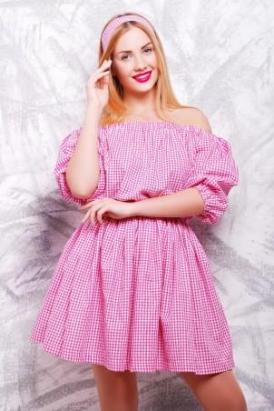 """FashionUp: Платье """"Крестьянка"""" PL-1306B - главное фото"""