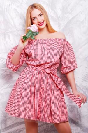 """FashionUp: Платье """"Крестьянка"""" PL-1306C - главное фото"""