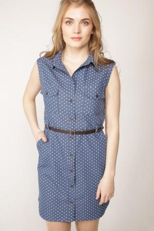 """LaVaNa: Платье-рубашка """"MIKO"""" LVN1604-0286 - главное фото"""