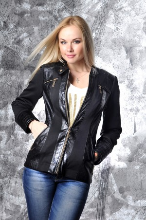 Vicco: Куртка ANET(черная) 2791 - главное фото