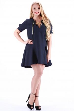 Alpama: Платье черное SO-13014-BLK SO-13014-BLK - главное фото