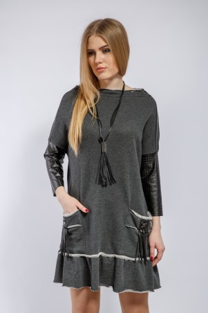 """Me&Me: Платье с карманами """"Крисс"""" 7180 - главное фото"""