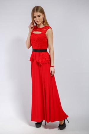 """InRed: Вечернее платье """"Charisma""""  красное 7186 - главное фото"""