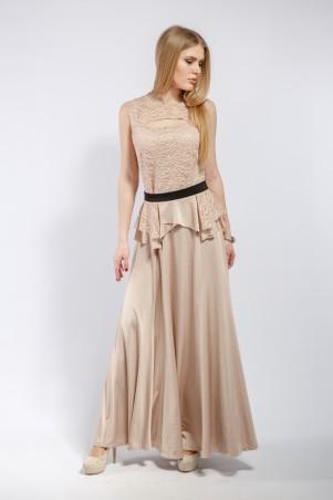 "Me&Me: Вечернее платье ""Charisma""  бежевое 7185 - главное фото"