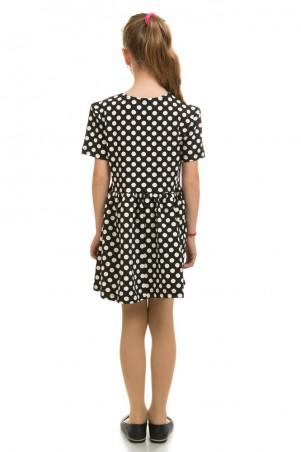 Kids Couture: Платье 16-17-1 черн.горох 1617102109 - главное фото