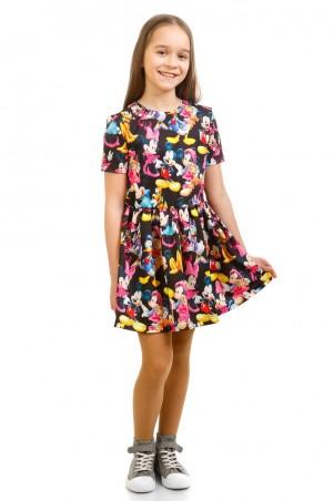 Kids Couture: Платье 16-17-1 черн.мики. 1617102111 - главное фото