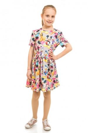 Kids Couture: Платье 16-17-1 сер.мики. 1617115114 - главное фото
