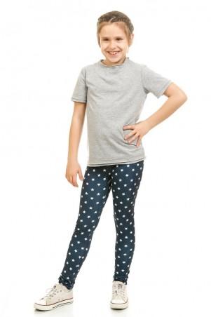 Kids Couture: Лосины синие звезды 5-001 50011101 - главное фото