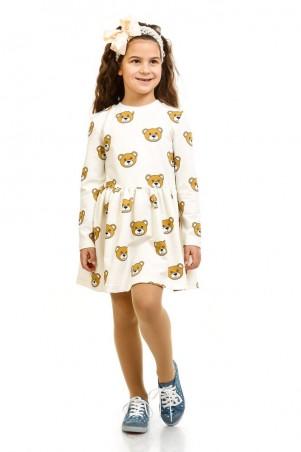 Kids Couture: Платье мишки  молоч.16-07 7116171655 - главное фото