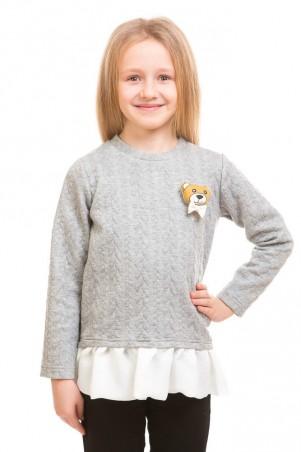 Kids Couture: Кофта косички с мишкой 71172011516 - главное фото