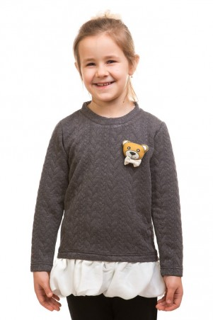 Kids Couture: Кофта мишки косички 71172013015 - главное фото