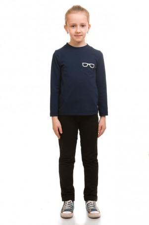 Kids Couture: Кофта, темно-синий трикотаж 17-211 71172111142 - главное фото