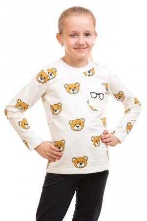 Kids Couture: Кофта 17-211 мишки карман очки 71172111639 - главное фото