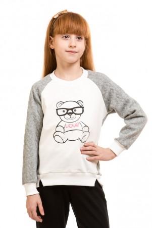 Kids Couture: Кофта мишка в очках 71172151551 - главное фото