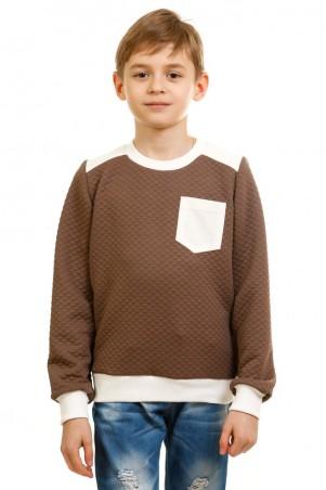 Kids Couture: Кофта 17-225 молочный карман 71172252943 - главное фото