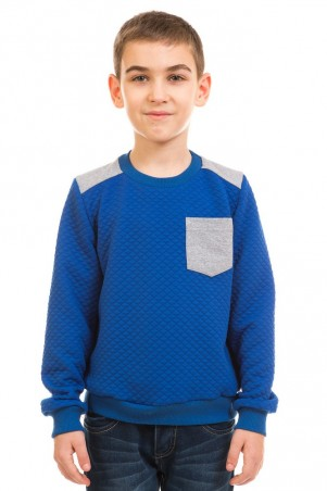 Kids Couture: Кофта 17-225 серый карман 71172253344 - главное фото