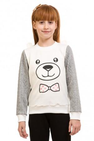 Kids Couture: Кофта крупний мишка 17-205 двунить 7172051550 - главное фото