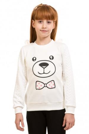 Kids Couture: Кофта, 2-х нить, молочная 17-205 7172051649 - главное фото