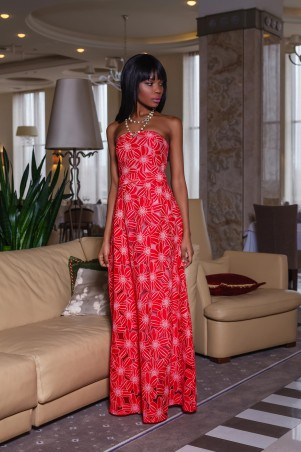 Jadone Fashion: Платье Пике М-5 - главное фото