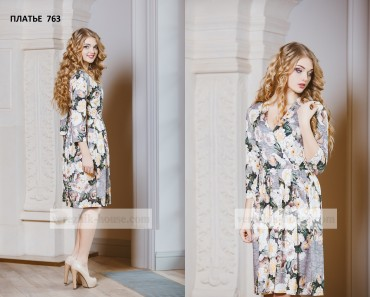 Verezhik House: Платье 763 - главное фото