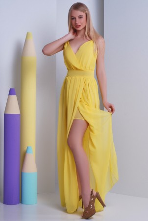SheShine: Платье 362-YEL - главное фото