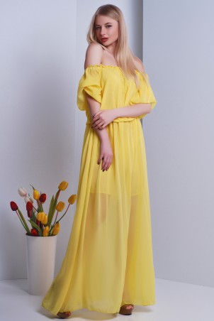 SheShine: Платье 101-11-YEL - главное фото