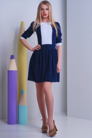 SheShine: Платье 381-BLU - главное фото