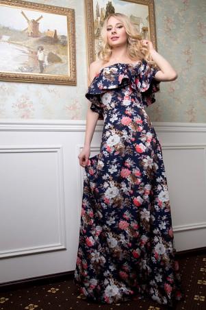 SheShine: Платье 464-BLU - главное фото
