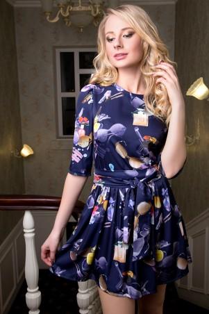 SheShine: Платье Армани короткое 452-BLU - главное фото