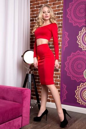 SheShine: Костюм Дольче новый 451-RED - главное фото