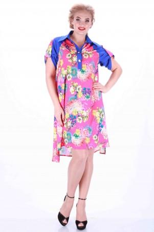 Alpama: Платье малина SO-13011-PNK - главное фото