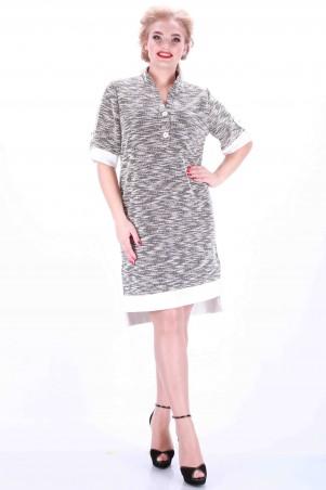 Alpama: Платье черное SO-13012-BLK - главное фото