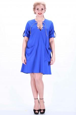 Alpama: Платье электрик SO-13013-ELB - главное фото