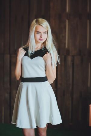 BIBI-Brand: Платье Милашка Бежевый - главное фото