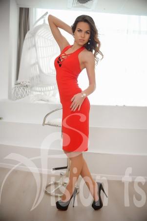 Vision FS: Облегающее платье со шнуровкой «Эвелин» 16504 - главное фото