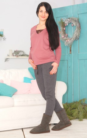 Nowa Ty: Теплые брюки Комфорт 15020208 - главное фото
